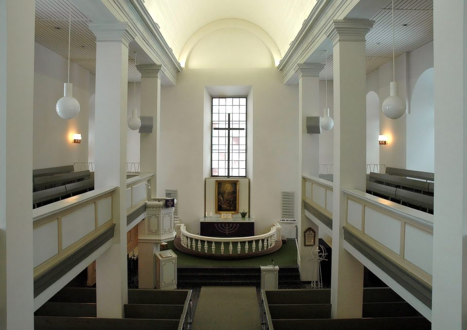 Marian kirkko ennen vuoden 2013 restauraatiota.